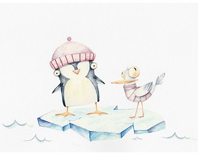 """Check out new work on my @Behance portfolio: """"Winter journey"""" http://be.net/gallery/41447723/Winter-journey"""