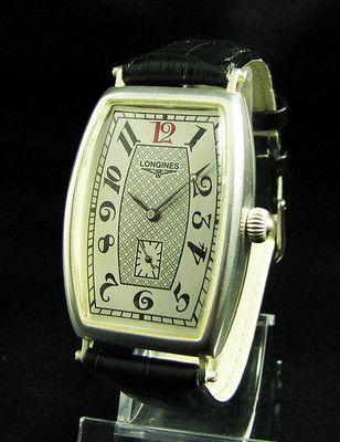 Vintage Art Deco LONGINES Men's Watch wind-up mechanical c1918***