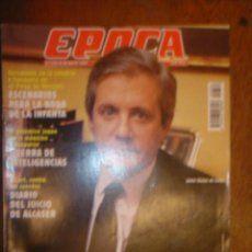 EPOCA Nº 639 AÑO 1997 MANIOBRAS CONTRA LIAÑO PARA ENTORPECER LA INVESTIGACION SOBRE SOGECABLE