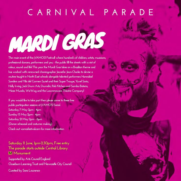 See Mardi Gras details here