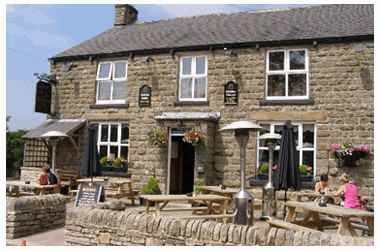 The Beehive Pub in Chapel-en-le-Frith, Derbyshire. A favourite to cycle to and stumble from.