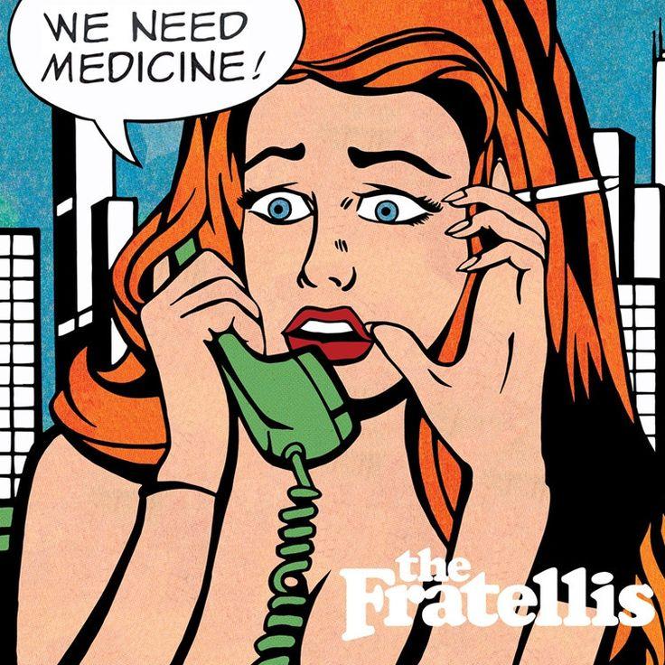 The Fratellis - We Need Medicine on 180g LP   CD
