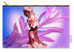Carry-all Pouch featuring the digital art Cuban Singer by Francesca Mackenney