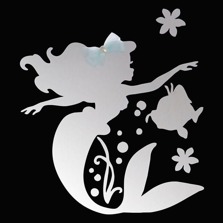 【公式】ディズニーストア|ミラーステッカー アリエル&フランダー: |ディズニーグッズ・ギフトの公式通販サイトDisneystore