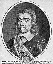 Charles de Valois, Duke of Angoulême - Illegitimate son of Charles IX of France and his mistress