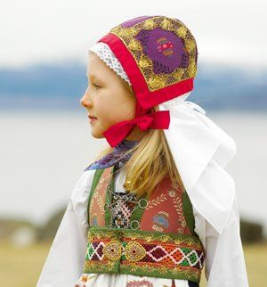 In Norway every girl and young women has a traditional costume. These costumes are highly sustainable, they are made in such a way that they can easily made smaller and larger. These costumes stay in the family for a long time. Revalueing traditions and craftmanship will be or is already a counter movement to all the cheap textile around. Pretty cool