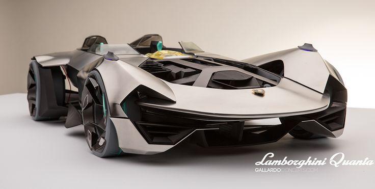 Lamborghini Quanta // hard model on Behance