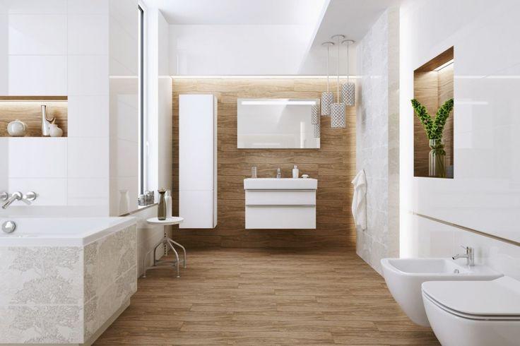 Płytki ceramiczne imitujące drewno to świetna alternatywa dla naturalnego materiału.