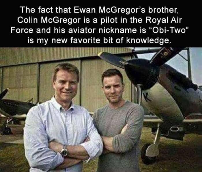 Colin and Ewan McGregor