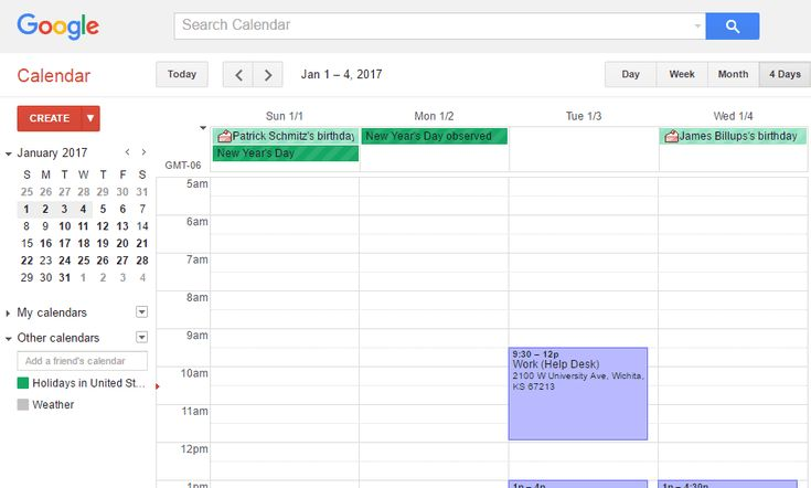 Get Organized With These Free Online Calendars: Google Calendar