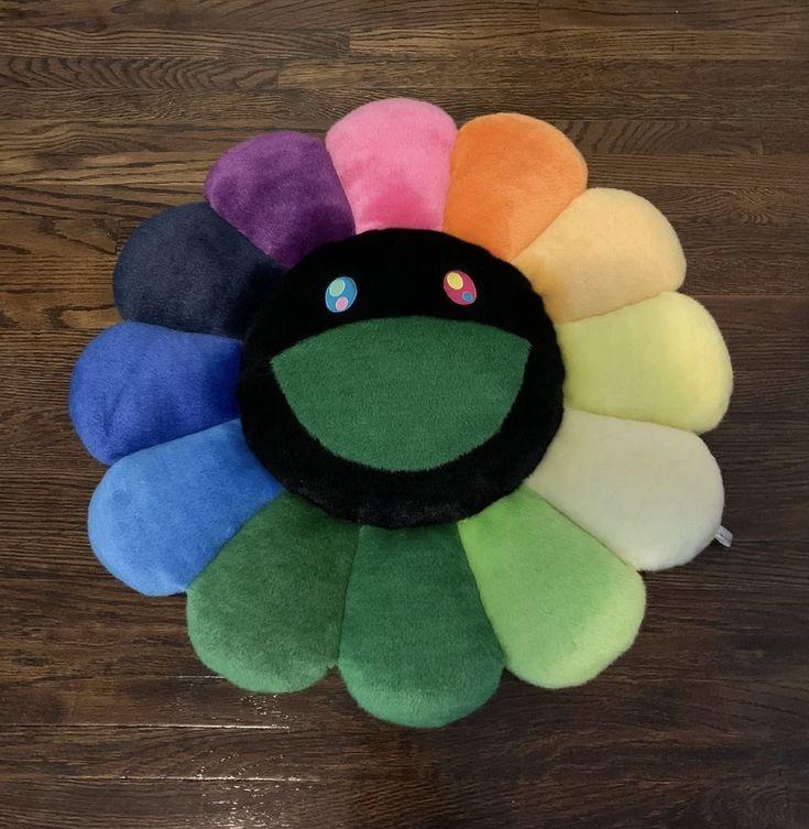 Pin by kasey wilcox on v2 murakami flower flower pillow