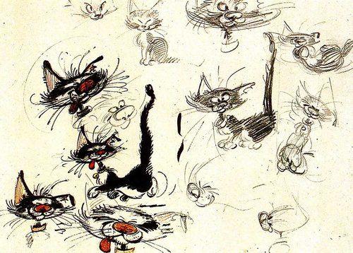 Le Chat de Gaston Franquin