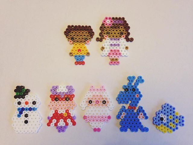 Disney Doc McStuffins perler beads by e_rika753