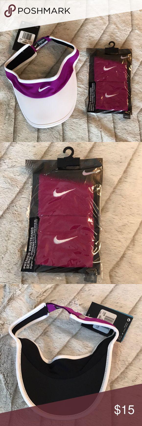 Spotted while shopping on Poshmark: Nike visor & wristband set! #poshmark #fashion #shopping #style #Nike #Accessories