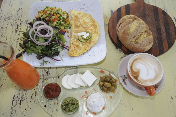 How to make an Israeli Breakfast, inspired by the buffets popular on kibbutzim and in Israeli hotels and restaurants.