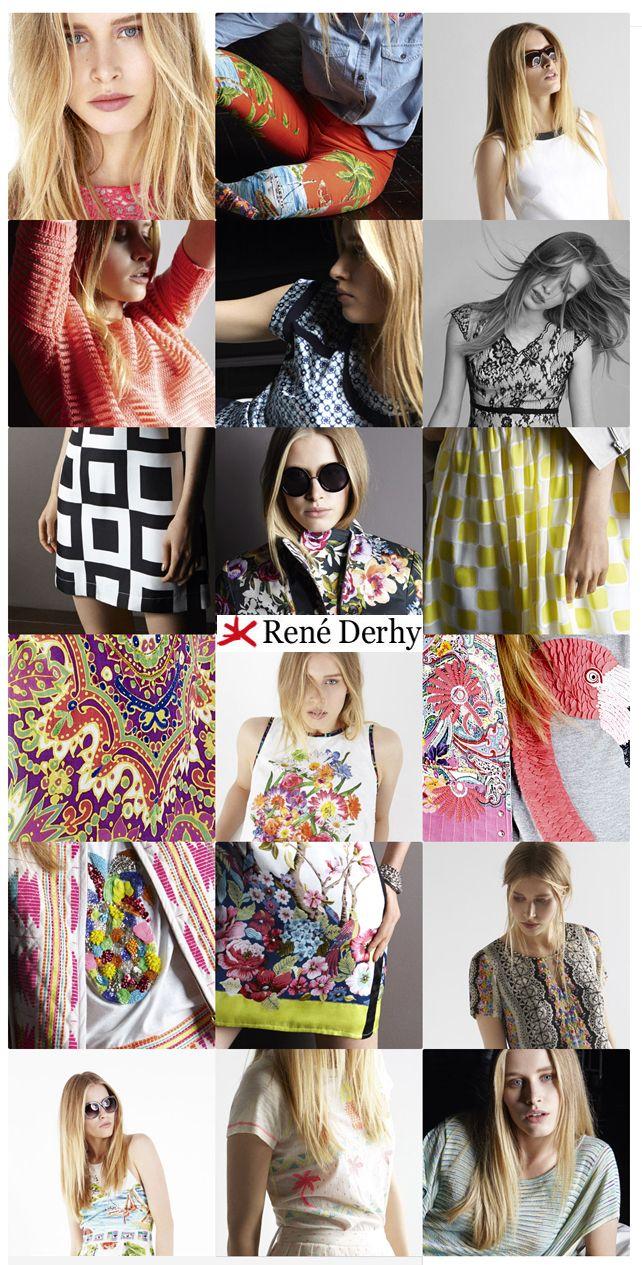 Damesmode, de zomer collectie 2014 van René Derhy is vooral opgebouwd uit jurken, rokken, blouses en tunieken. Ook nu in 2014  vinden we de etnische indiase stijl terug in de collectie, MEER  http://www.pops-fashion.com/?p=10977