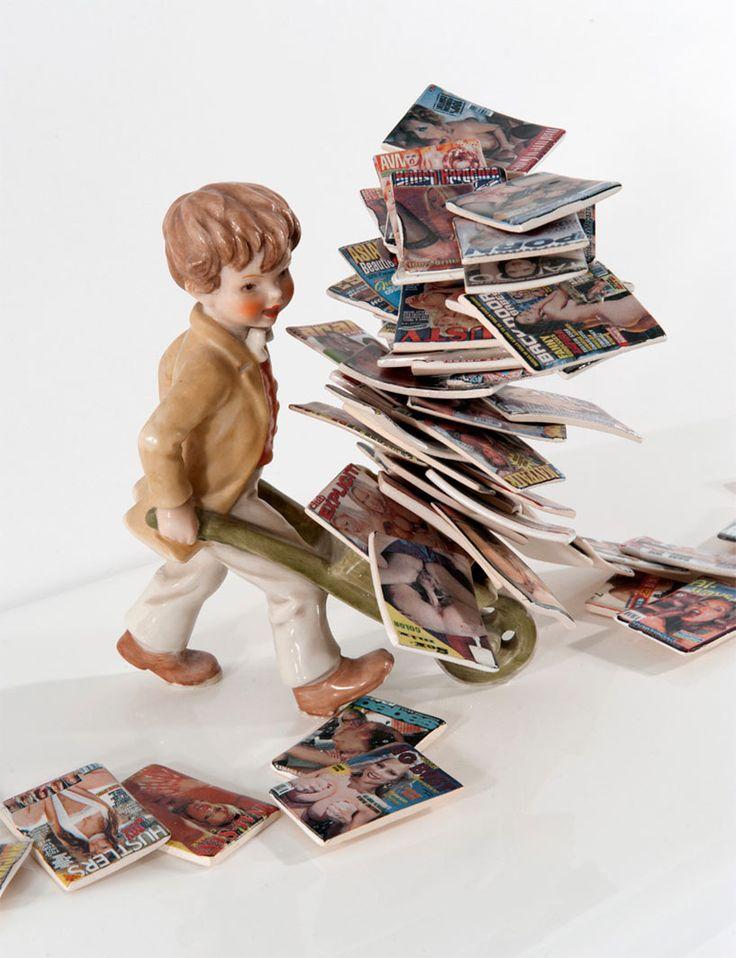 Barnaby Barford, figurines.