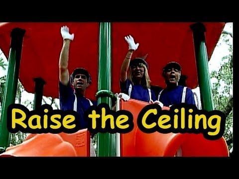 """""""Raise the Ceiling"""" by The Learning Station This fun action, dance song is great for brain breaks, circle time or those bad weather days when children can't go out and play."""