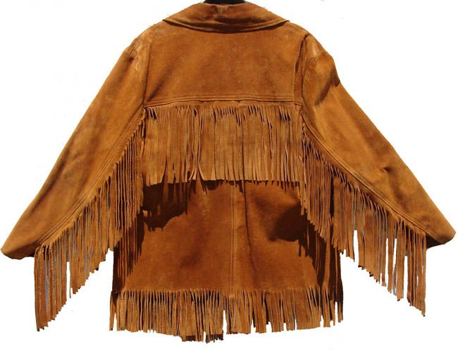 Fringed suede jacket, '70s, Cant believe I found this on Pintrest ! @age 14 my best friend (Robin)and I both got this jacket ! So soft to touch, and the smell of the leather would fill a room. We were so proud to have this American Icon...