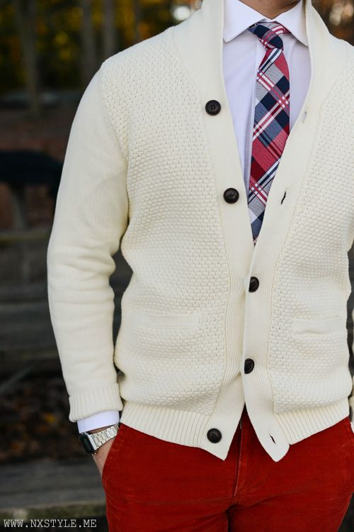Unreal tie n red chinos                                                       …