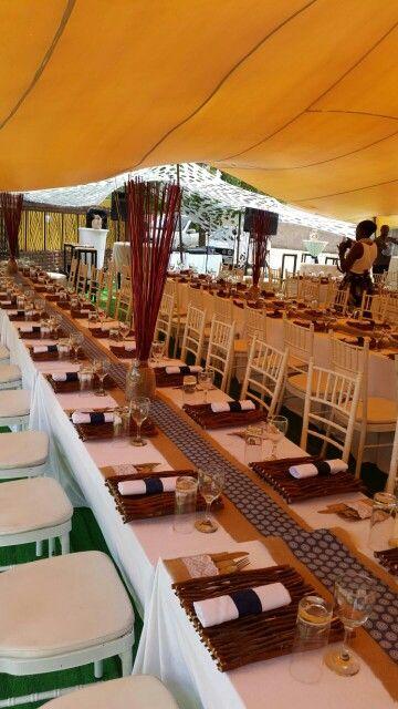 Modern african traditional wedding décor, wedding in Tatisiding, Botswana
