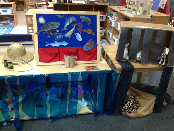 Classroom Aquarium Ideas : Preschool zoo and aquarium dramatic play pinterest