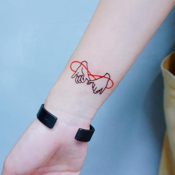 Pinky Promise Tattoo 勾手指尾刺青紋身貼紙 BBF Pinky Finger Temporary Tattoo Friendship Best Friend Besties HK Hong Kong Tatouage Tatti Tatto Tatoo Taiwan