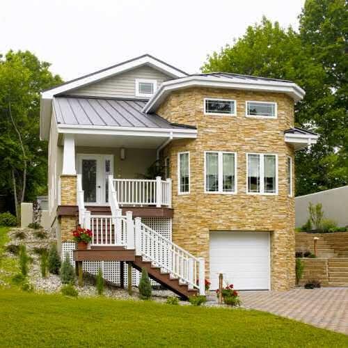 casas modernas com porão - Pesquisa Google