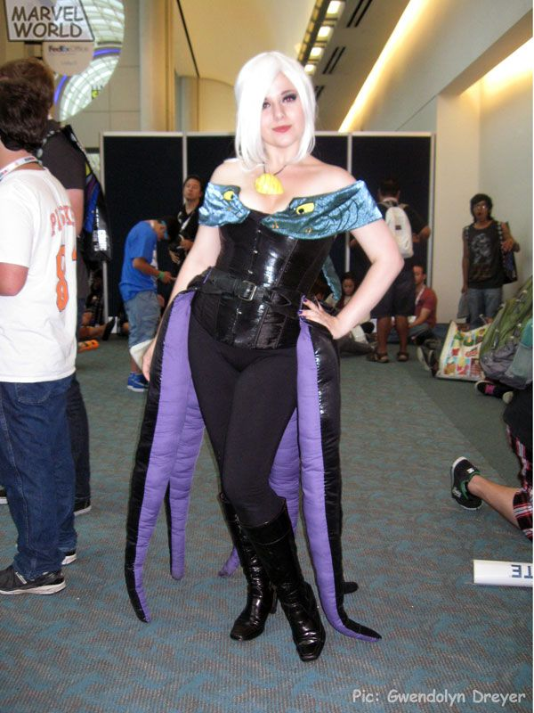 Ursula Tentacles All The Way Around Like A Skirt
