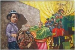 """JORNADA DE MURALES """"CARNAVAL MITOS Y LEYENDAS"""" Colombia"""