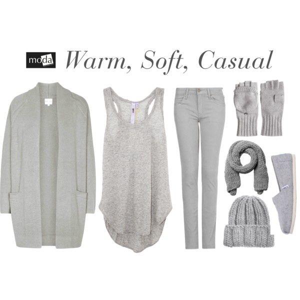 """""""Warm, Soft, Casual"""" by modadasha on Polyvore"""