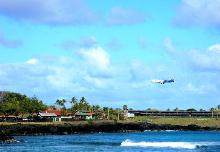 12 THINGS YOU MUST DO ON EASTER ISLAND Watch the plane landing