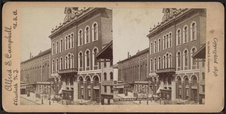 Tammany Hall, 14th St., N.Y.