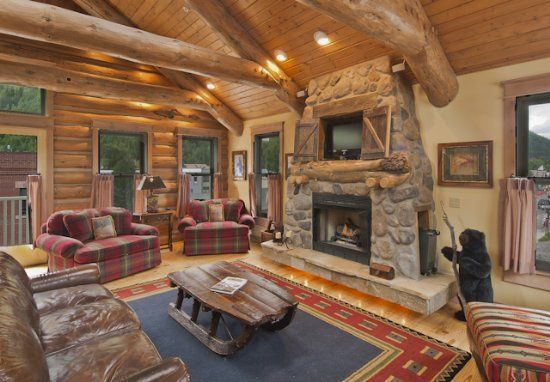 Luxury Log Cabin Homes