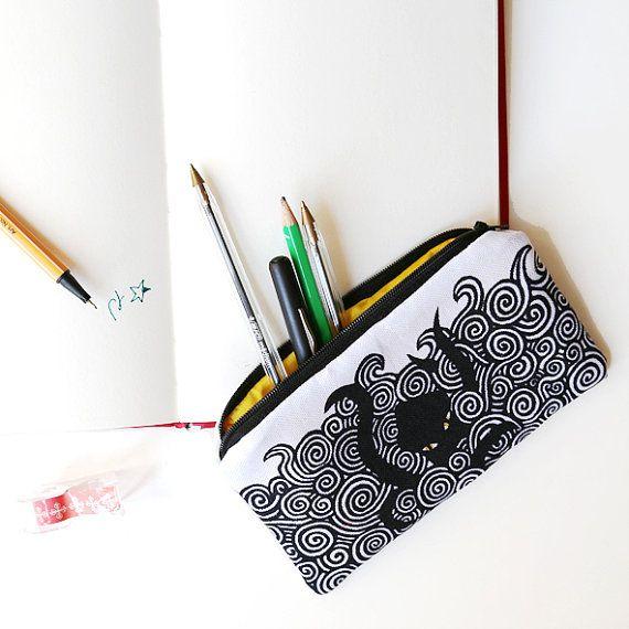 pencil case Kraken- Yamok on Etsy