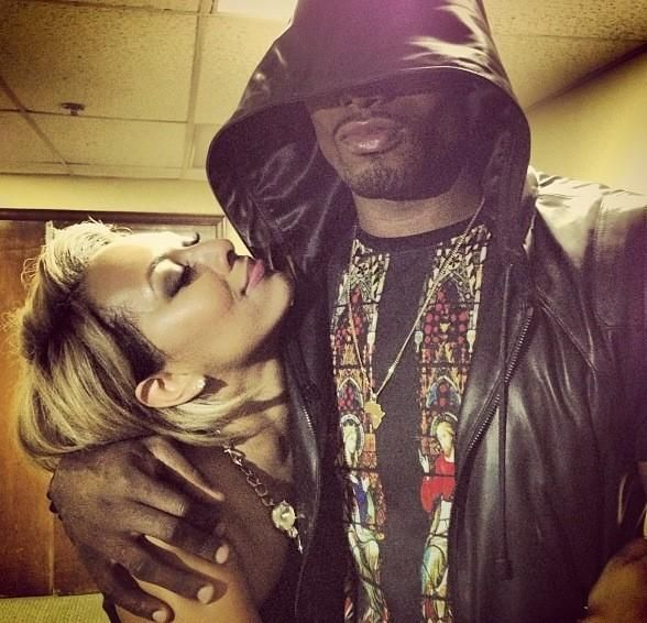 Serge Ibaka and girlfriend Keri Hilson #blacklove