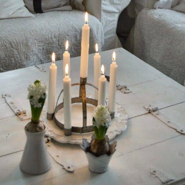 Luciakrona • Skandinavisk Jul • Scandinavian Christmas • Hagbackens.blogspot.com