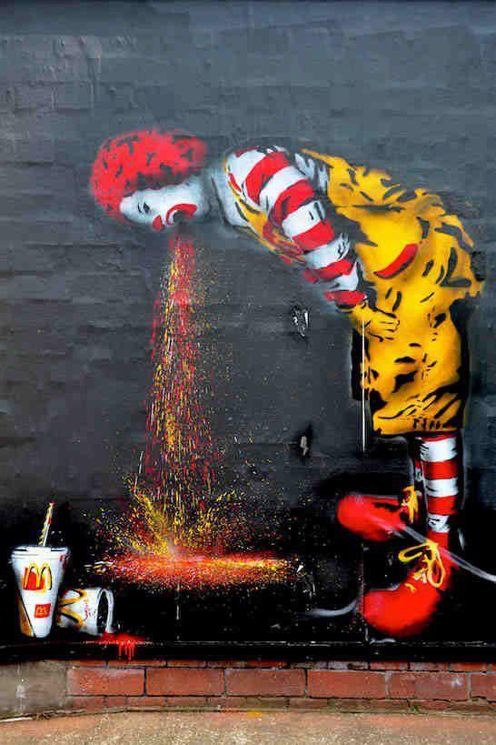 Art by SPQR / Photo by Patrick S. (via Street Art in Germany).
