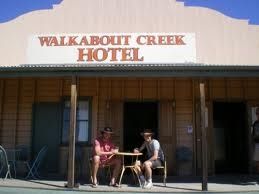"Walkabout Creek Hotel. Made famous in the movie ""Crocodile  Dundee""."