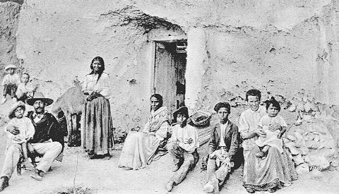 Fotos gitanas roma vintage