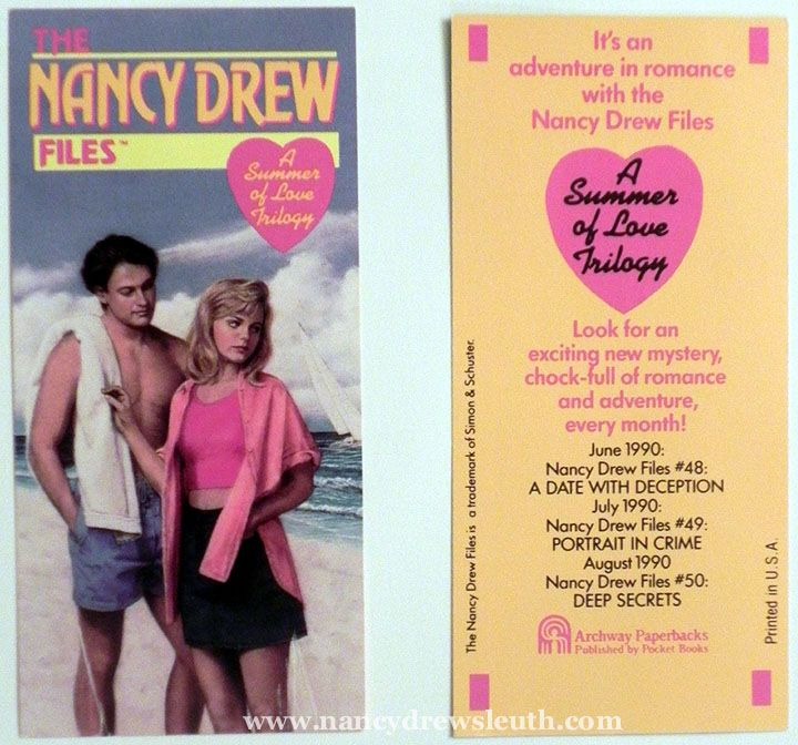 Jenn's Collection - Files Collectibles - Bookmark - www.nancydrewsleuth.com