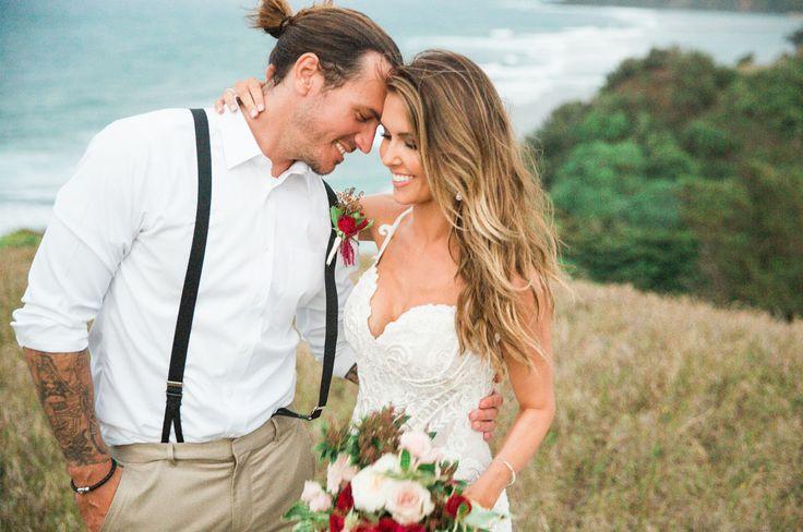 Audrina Patridge + Corey Bohan's Kauai Wedding