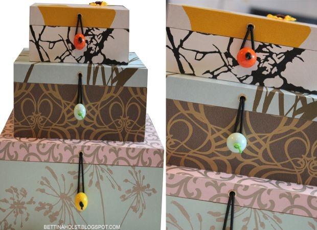 *BETTINA HOLST*: Mine DIY kasser - done deal ....