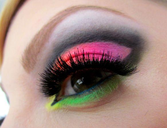 Dnešní Makeup: Rainbow (on) Rocks http://getthelouk.com/?p=1908