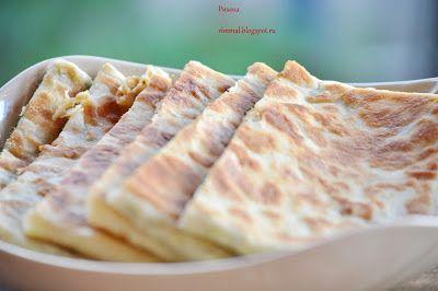 Комплимент от ШЕФА: Гёзлеме (Турецкие лепешки с мясом и сыром и шпинатом)