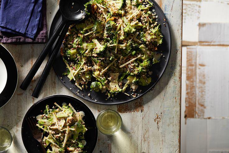 Luke Nguyen's broccoli salad