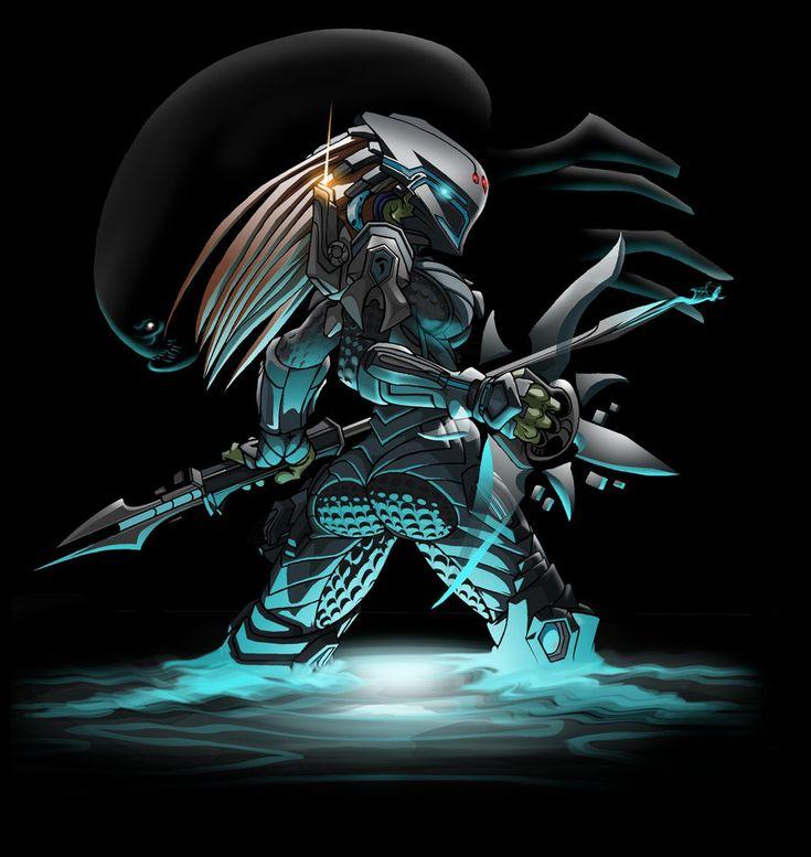 2786 Predator Girl 2 by Spoon02.deviantart.com on @DeviantArt
