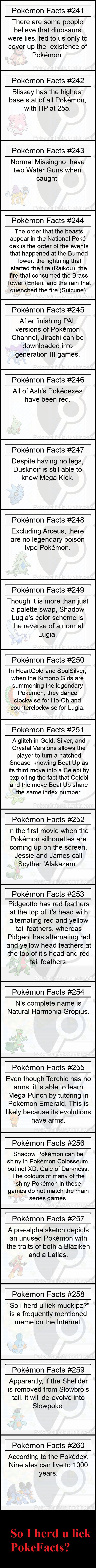 Pokemon Facts 13
