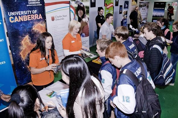Melba Copland Secondary School students Careers Expo