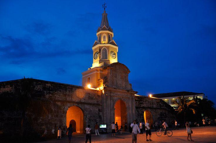 Sitios Turisticos de Cartagena de Indias Torre del Reloj